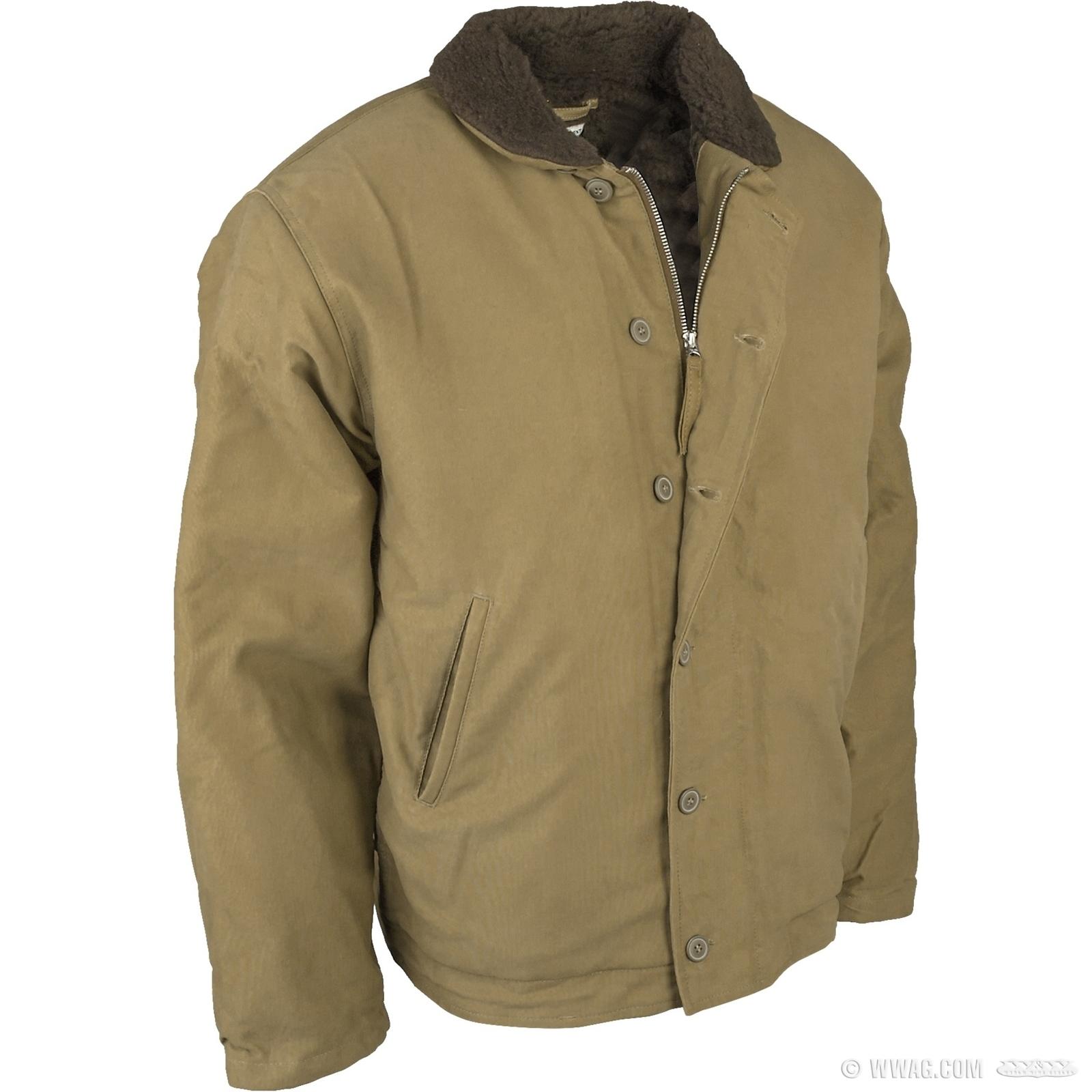 W&W Cycles - Bekleidung und Helme > Pike Brothers 1944 N-1 Deck Jacket