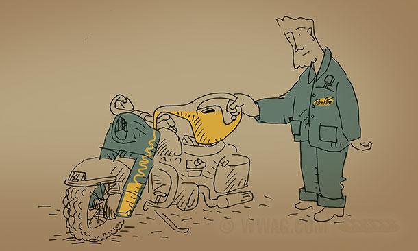 Harley Davidson Sportster  Oil Capacity