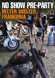 Banner Helter Skelter 2018 Custom Cannonball Bates Parts Harley Davidson Harley-Davidson HD H-D bar shield Bar'n'Shield Chopper Custom Parts Accessories IOE Flathead Knucklehead Panhead Shovelhead Sportster Paint Rigid Vintage Oldschool