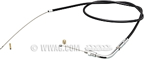 Throttle Cables for FL 1975, FX 1974-1975, XLCH 1974-early 1976 (Bendix Carb)