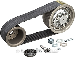 "BDL 8 mm 3 "" Belt Drives for Softail"