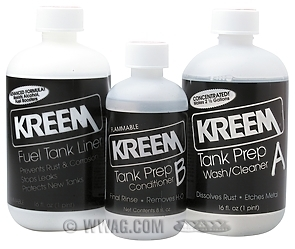 KRM Tank Cleaner and Sealer