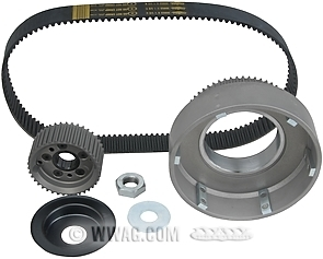 Primo 8 mm Belt Drives for 4-Speed Big Twin