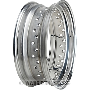 Drop Center Stainless Steel Rims