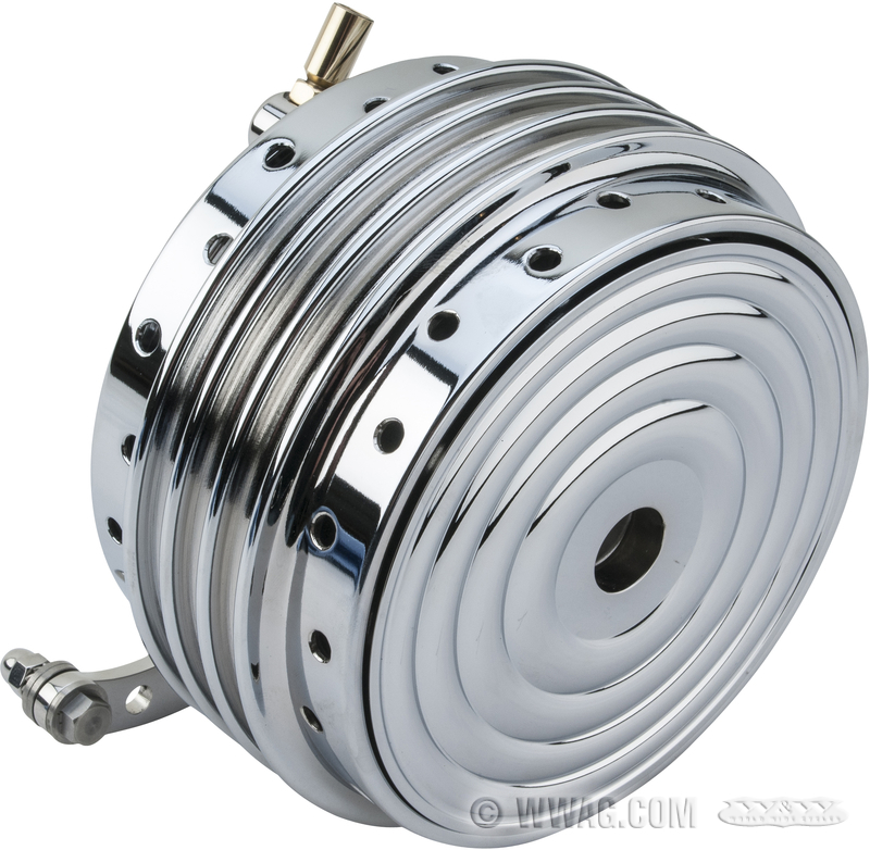 Front Drum Brakes : W cycles brakes gt kustom tech mini front drum brake