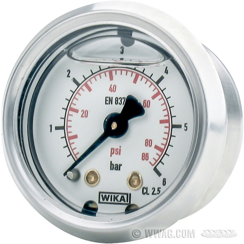 W w cycles dep sito de aceite man metro presi n de for Manometro para medir presion de agua