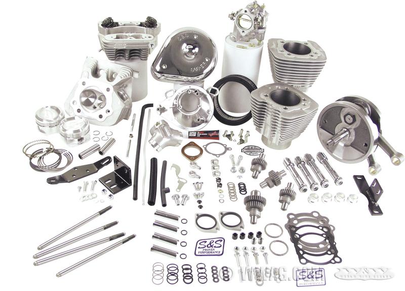 schema motore harley 883