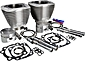 "S&S 3-5/8"" Big Bore Kits for Evolution Big Twin"