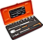 "Bahco Ratchet and Socket Sets 1/4"" SAE"