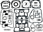 S&S Gasket Kits for Engines: T Series