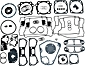S&S Gasket Kits for Engines: S&S V Series