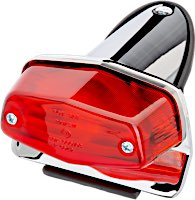 Lucas Type Mini Taillights with license bracket