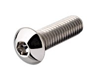 Buttonhead Socket Screws Stainless Polished