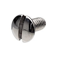 Oval Countersunk Slotted Head Screws Chrome-plated
