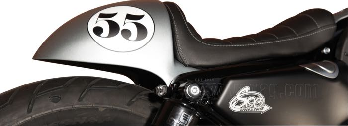 SOC Café Racer Tail Section