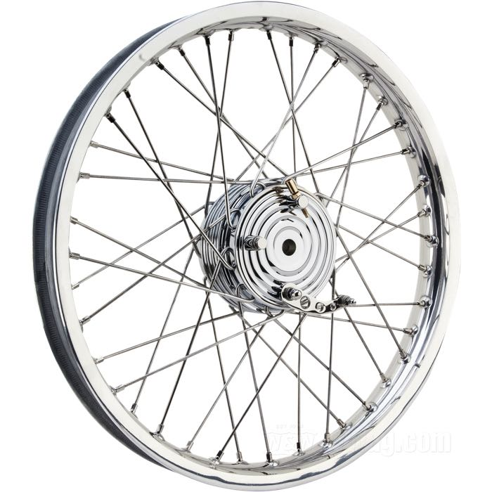 Front Wheel with Mini Drum Brake