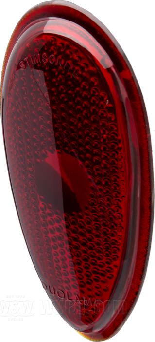 Replacement Lenses for Teardrop Taillights