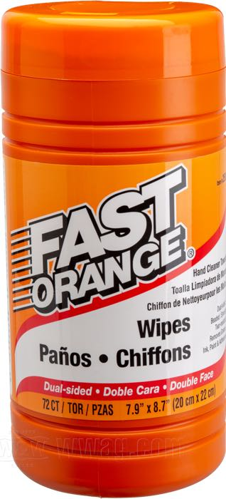 Permatex Fast Orange Hand Cleaning Wipes