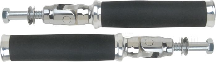 PM Round-Style Footpegs