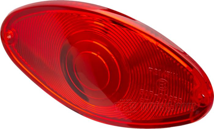 Replacement Lenses for Cat Eye Taillights Standard