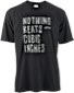 W&W NOTHING BEATS CUBIC INCHES (Scribble) T-Shirts