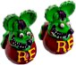 Mooneyes Rat Fink Valve Caps