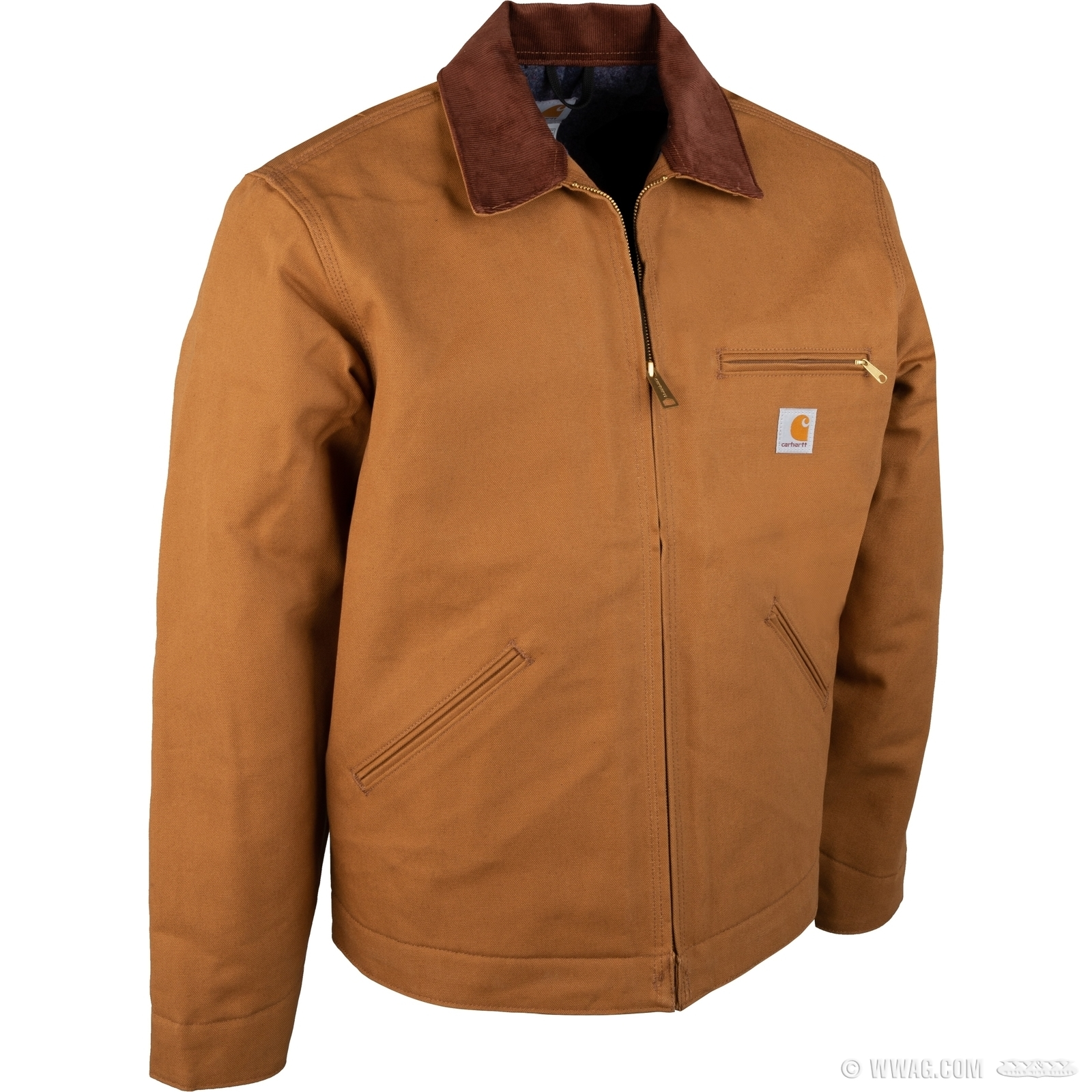 6d0cf066f W&W Cycles - Apparel and Helmets > Carhartt Duck Detroit Jacket