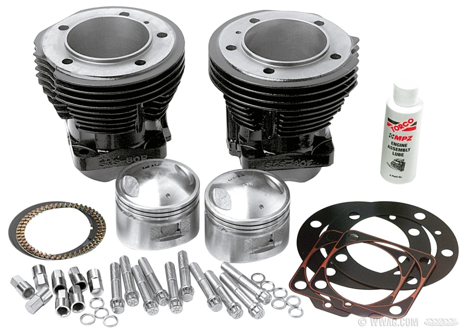 "W&W Cycles - Engine > S&S 3-5/8"" Big Bore Kits for Shovelhead"