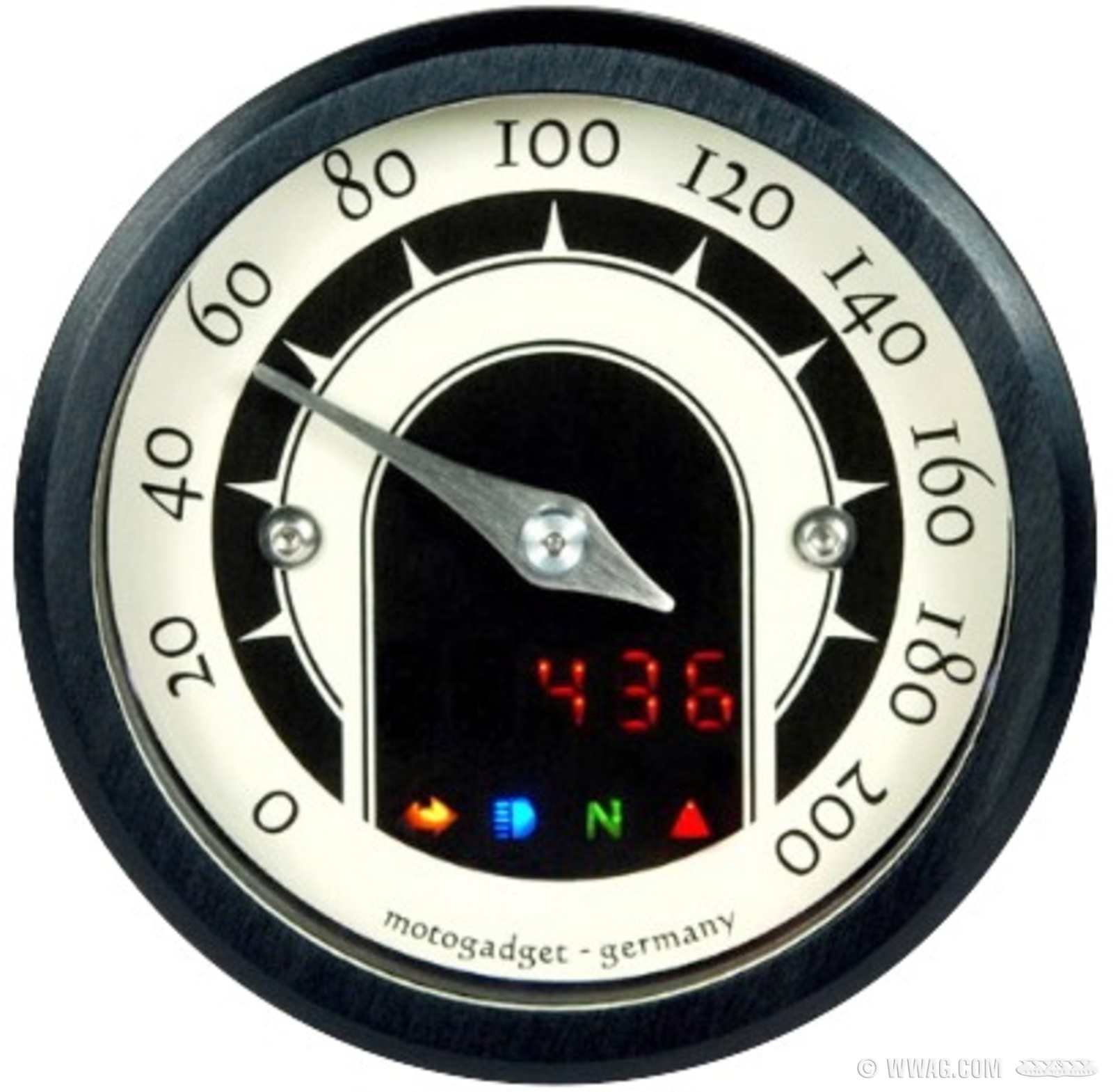 W&W Cycles - Speedometers and Instruments > motogadget