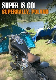 Banner Superrally 2018 Poland Bydgoszcz Pivo Custom Cannonball Bates Parts Harley Davidson Harley-Davidson HD H-D bar shield Bar'n'Shield Chopper Custom Parts Accessories IOE Flathead Knucklehead Panhead Shovelhead Sportster Paint Rigid 70s Vintage Oldschool