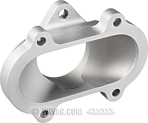 NSW Adapter for S&S Two Throat Carburetor on Super B+E Manifold