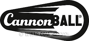 Cannonball Stickers
