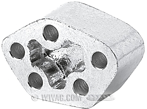 Foot Clutch Aluminum Spacer
