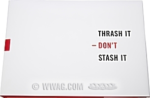 Thrash It - Don't Stash It