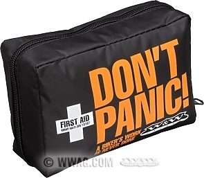W&W Don't Panic First Aid Kit Motorcycle
