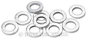 Washers for Cylinder Head Bolts: Knucklehead, Panhead, Shovelhead Big Twin and XL