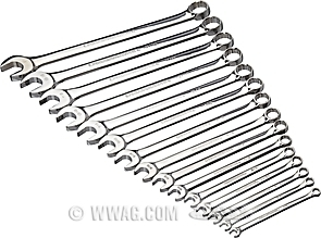 GearWrench Combination Wrench Sets SAE