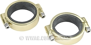 Brass Rubberband Manifold Clamps