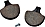 Brake Pads for OEM Brake Calipers - Front Sportster, FX, FXR, Softail, Dyna, Touring 1984-1999