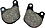 Brake Pads for OEM Brake Calipers - Front Sportster, FX, FXWG, and FXR 1978-1983