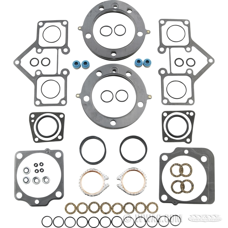 W&W Cycles - Gaskets > Cometic Gasket Kits for Top End: Shovelhead