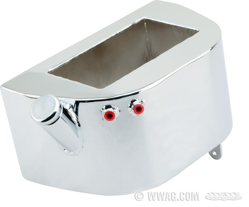W&W Cycles - Oil Tank > Paughco Custom Horseshoe Oil Tanks for