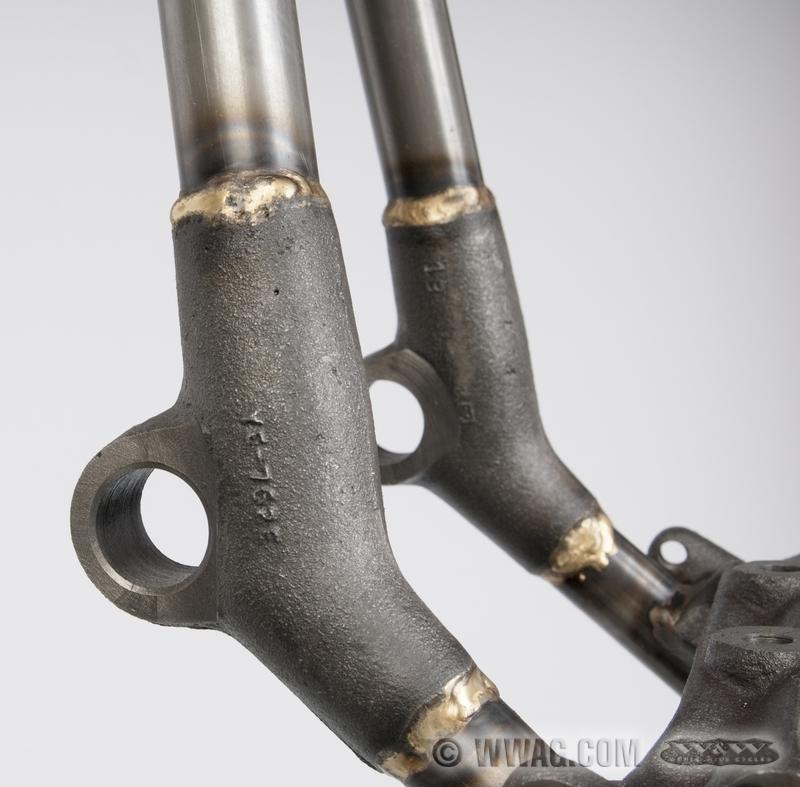 W&W Cycles - Fahrwerk > VG Big Twin Rahmen