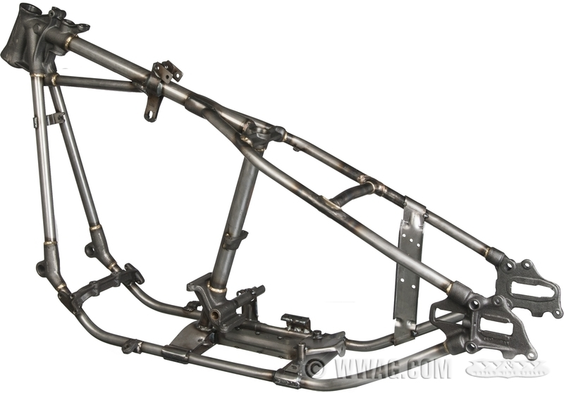 W&W Cycles - Chassis > VG Big Twin Frames