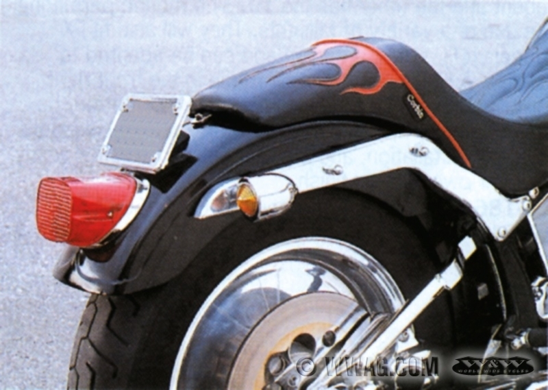 W&W Cycles - Fenders > Super Glide Type Rear Fenders for Softail