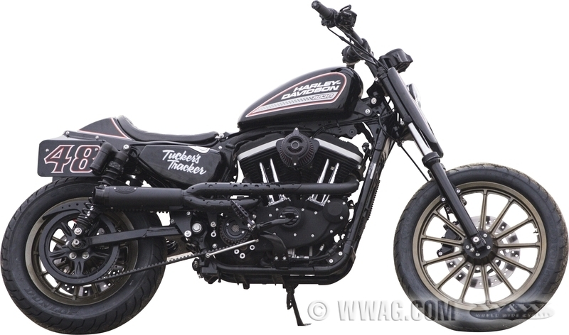 W&W Cycles - Exhaust > RSD Tracker 2-1 Exhaust Systems