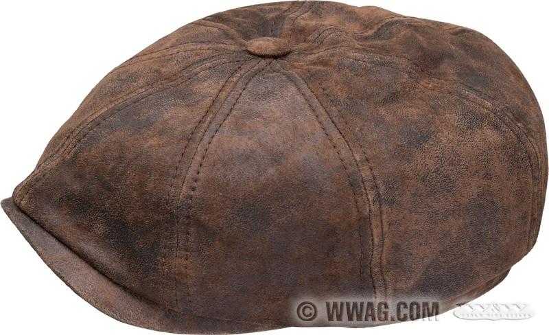e1e6c149 W&W Cycles - Apparel and Helmets > Stetson Hatteras Burney Pigskin Caps