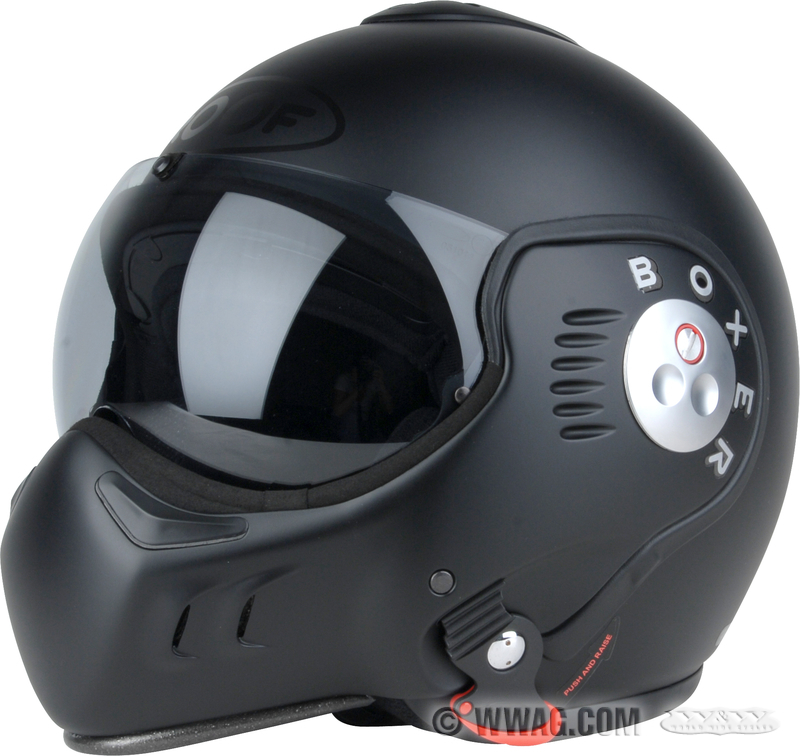 w w cycles apparel and helmets roof boxer v8 flip up helmets. Black Bedroom Furniture Sets. Home Design Ideas