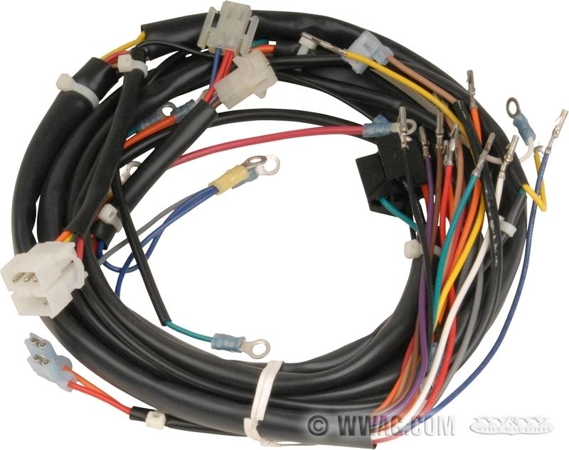 W&W Cycles - Elektrik > Haupt-Kabelbäume