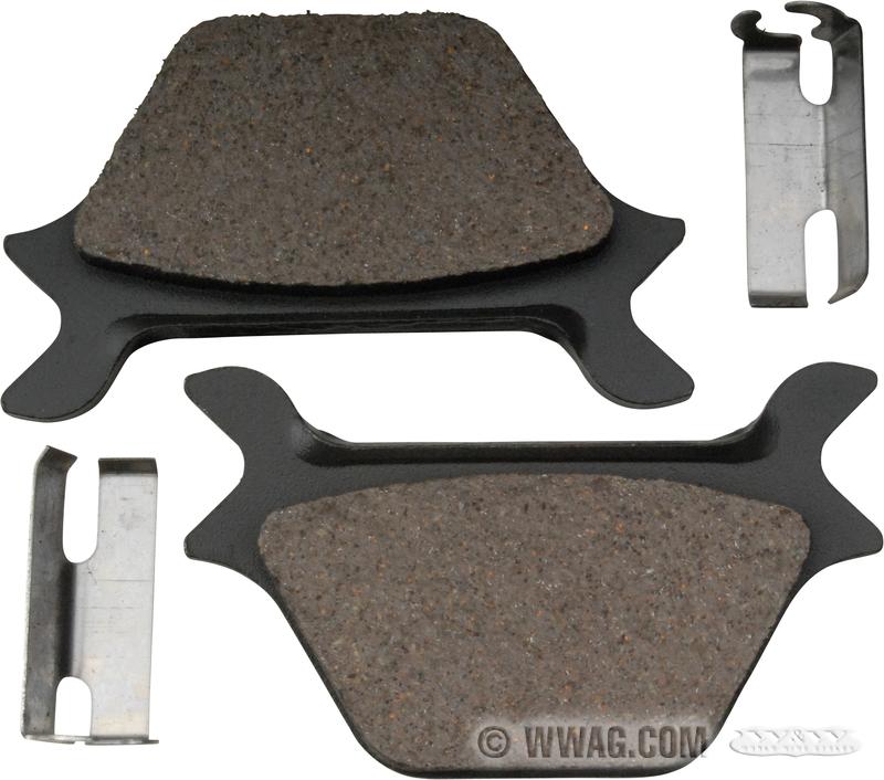 W&W Cycles - Brakes > Rear Sportster, FXR, Softail, Dyna